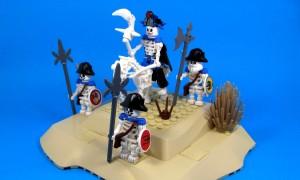 Lego skeleton bone army
